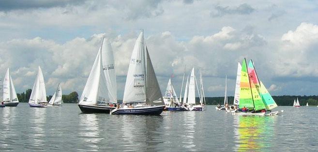 Regaty WTR Puchar Marszałka Województwa Mazowieckiego 2009fot. Blue Yacht