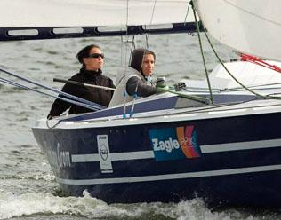 Uśpiony Grom, fot. Czesław Kalinowski, Mistrzostwa Polski Jachtów Kabinowych 2014