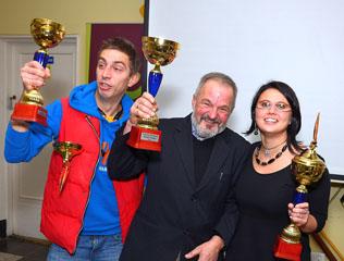 Laureaci Nagrody Specjalnej Klasy Tango, fot. Tomasz Piotrowski, Warszawskie Towarzystwo Regatowe 2014