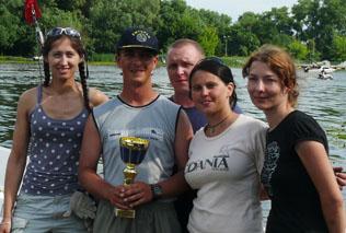 Frog Hunter Team zdobywa III miejsce, fot. Ewa Kalinowska, Regaty Świętojańskie 2013
