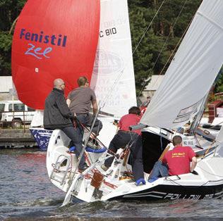 Szymon Mirecki naFollow Me, fot. Blue Yacht, Puchar Auto Podlasia 2009