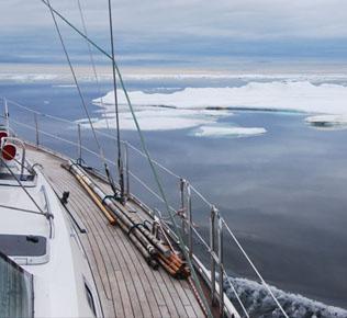 Lady Dana 44wlodach Arktyki, fot. Lady Dana 44, Wyprawa Around the North Pole 2013