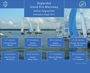 Kalendarz Regat 2015, Warszawskie Towarzystwo Regatowe
